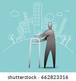 patient recovery | Shutterstock .eps vector #662823316