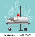 patient blood transfusion   Shutterstock .eps vector #662828062