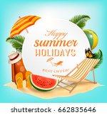 summer vacation concept... | Shutterstock .eps vector #662835646