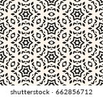 vector ornamental seamless... | Shutterstock .eps vector #662856712