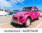santa eularia port  ibiza... | Shutterstock . vector #662875648