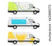 set of branding design... | Shutterstock .eps vector #662888572