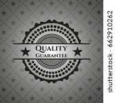 quality guarantee retro style... | Shutterstock .eps vector #662910262