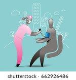 blood pressure test   Shutterstock .eps vector #662926486