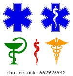 medical international symbols... | Shutterstock .eps vector #662926942