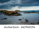 ballintoy is a small village ... | Shutterstock . vector #662960296
