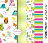 Owl Repeating Pattern With...