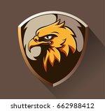 vector abstract  shape eagle...