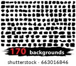 very large collection or set of ... | Shutterstock . vector #663016846