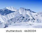 Snow Covered Beautiful Mountai...