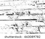brick wall grunge urban... | Shutterstock .eps vector #663089782