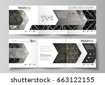 business templates for tri fold ... | Shutterstock .eps vector #663122155