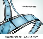 film strip vector background | Shutterstock .eps vector #66315409