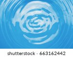 abstract blur water ripple... | Shutterstock . vector #663162442