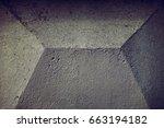 concrete wall | Shutterstock . vector #663194182