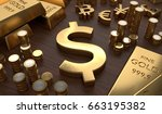 investment and banking concept. ... | Shutterstock . vector #663195382