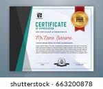 multipurpose modern... | Shutterstock .eps vector #663200878