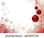 vector christmas background | Shutterstock .eps vector #66320734