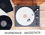 Turntable Vinyl Record Player ...