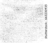 grunge overlay texture distress ... | Shutterstock .eps vector #663230935