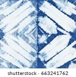 abstract batik tie dyed fabric... | Shutterstock . vector #663241762