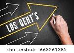 hand drawing several upwards... | Shutterstock . vector #663261385