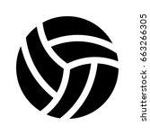 volleyball | Shutterstock .eps vector #663266305