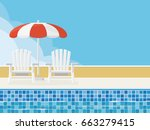 Summer Scene Background With...