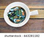 Hot Ceramic Pot With Delicious...