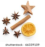 Christmas Spices  Anise ...