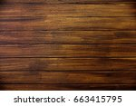 perfect wood planks background... | Shutterstock . vector #663415795