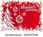 christmas background   Shutterstock .eps vector #66347548