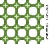 seamless pattern. modern...   Shutterstock . vector #663483016
