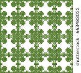seamless pattern. modern...   Shutterstock . vector #663483022