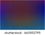 vector iridescent background.... | Shutterstock .eps vector #663502795