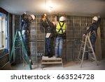 us navy sailors based in... | Shutterstock . vector #663524728