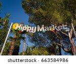 island of ibiza  spain  june 14 ...   Shutterstock . vector #663584986