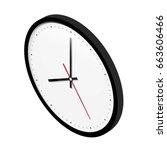 vector illustration isometric... | Shutterstock .eps vector #663606466