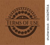 terms of use realistic wood...