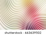 colorful ripple background | Shutterstock . vector #663639502