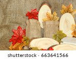 a rustic countryside image... | Shutterstock . vector #663641566