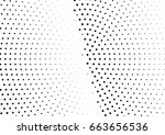 abstract halftone dotted... | Shutterstock .eps vector #663656536