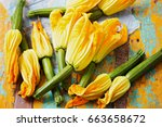 Edible Courgette Flowers...