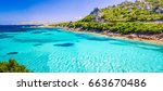 Emerald Green Sea Water And...
