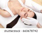 people  beauty  spa  healthy...   Shutterstock . vector #663678742