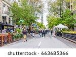 montreal  canada   may 26  2017 ... | Shutterstock . vector #663685366