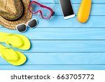 Beach Or Summer Accessories On...