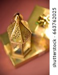 fanous  an egyptian traditional ... | Shutterstock . vector #663762025