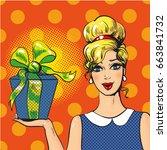 vector illustration of... | Shutterstock .eps vector #663841732