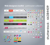 web designers toolkit  ... | Shutterstock .eps vector #66384409